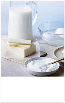 Lactose and dairy-free options
