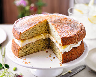 Martha Collison's lemon & poppy seed cake