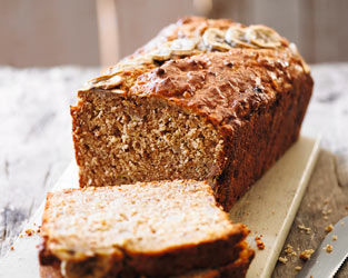 Martha's peanut butter banana bread