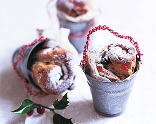 Individual Christmas stollen