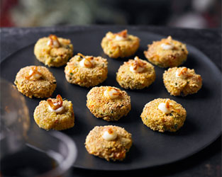 Heston's prawn & crab cakes