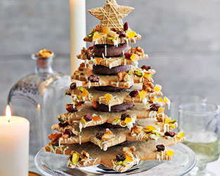 Heston Christmas cookie tree