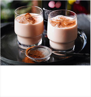 Heston's cherry latte