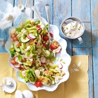 Middle-Eastern-fattoush
