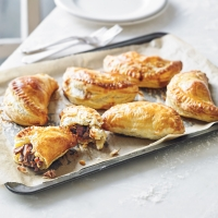Martha's slow-cooked lamb shank pasties