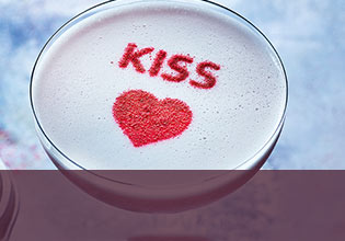 Kiss cocktail
