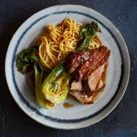 Five-spice duck & noodles