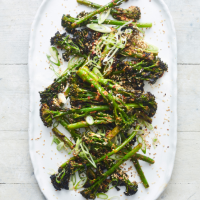 Chargrilled Tenderstem broccoli with sesame