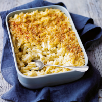 Cheeseboard mac & cheese