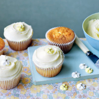 Elderflower cupcakes