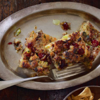 Heston's cranberry and caraway stuffing