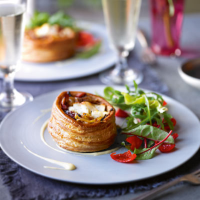 Heston's goat's cheese tart