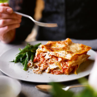 Heston's crab and cod lasagne