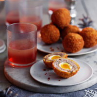 Heston's Christmas Scotch eggs