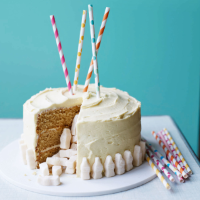 Martha's malted milk piñata cake