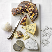 Martha Collison's Christmas cheeseboard pudding