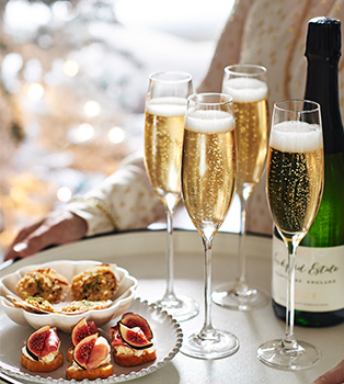 Good sparkling wines for smaller gatherings