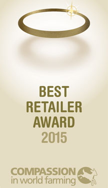 Compassion in world farming, Best retailer award 2015