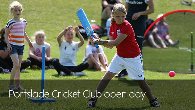 Portslade Cricket Club open day