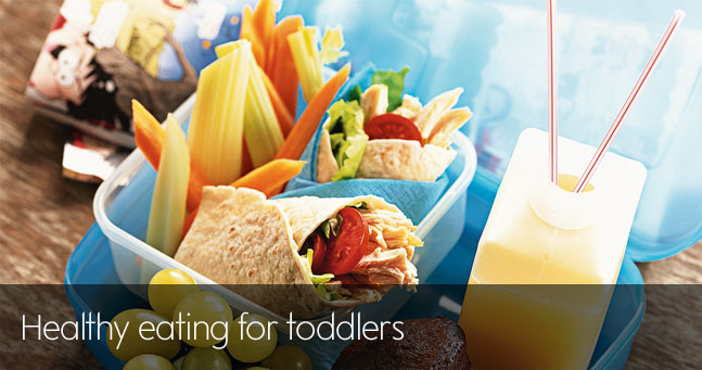 Healthy eating for toddlers