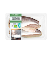 New England seafood sea bass fillets