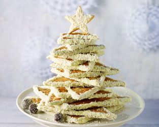 Christmas biscuit tree