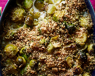 Brussel sprouts with caraway seed