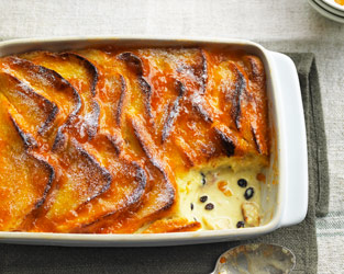 Marco Pierre White's bread and butter pudding
