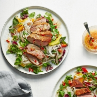 Asian-duck-salad-with-rice-noodles