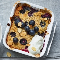 Baked-blueberry-oats