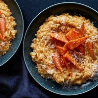 Chantenay carrot risotto