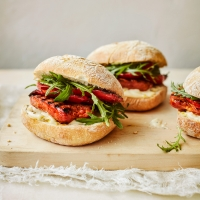 Chorizo & red pepper ciabatta rolls