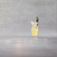 Pear vodka Collins