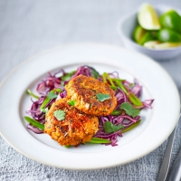 Thai-crab-cakes-with-spring-slaw
