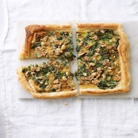watercress-tart