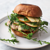 Jamie Oliver's crazy good pork burger
