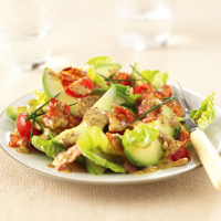 Warm Bacon and Avocado Salad