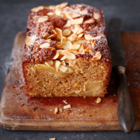 Conference pear and cardamom loaf cake