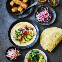 Fish finger tacos