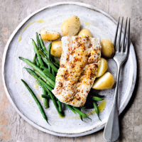 Haddock with honey & orange