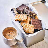 Martha Collison's chocolate tiffin