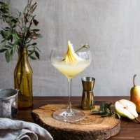 Winter pear daiquiri