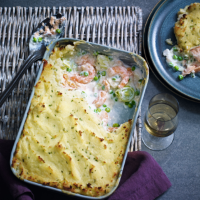 Short-cut fish pie