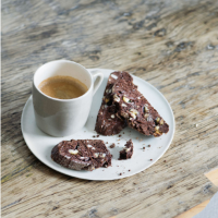 Martha's triple chocolate biscotti