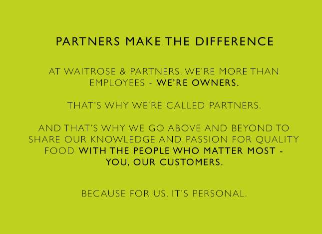 Partners make the difference