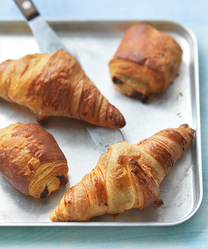 Waitrose frozen croissants