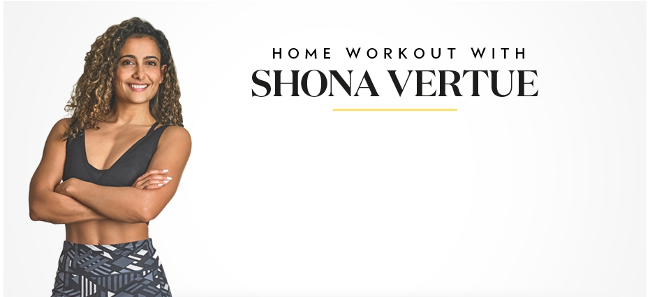 Home workout with Shona Vertue