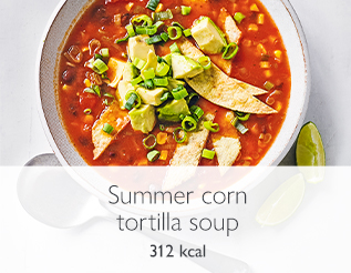 Summer tortilla soup