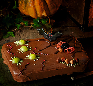Creepy creatures traybake