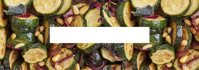 Sizzling courgettes agrodolce